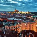 Prague At Night by Dmitry Dreyer