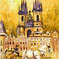 Prague Authentic 02 by Miki De Goodaboom