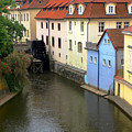 Prague Canal Mill by C H Apperson