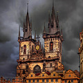 Prague Cathedral by Endre Balogh