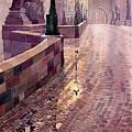 Prague Charles Bridge Night Light by Yuriy Shevchuk