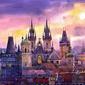 Prague City Of Hundres Spiers Variant by Yuriy Shevchuk