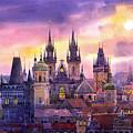 Prague City Of Hundres Spiers Variant by Yuriy  Shevchuk