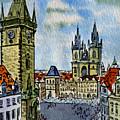 Prague Czech Republic by Irina Sztukowski