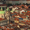 Prague From Above by Jed Holtzman