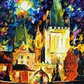 Prague by Leonid Afremov