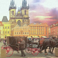 Prague Old Town Square by Leigh Kemp