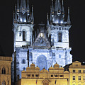 Prague Old Town Square by Sally Weigand