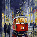 Prague Old Tram 06 by Yuriy  Shevchuk