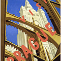 Prague Travel Poster by Pd