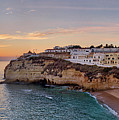 Praia Do Carvoeiro Sunset by Mikehoward Photography