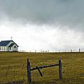 Prairie Church by Ron  McGinnis