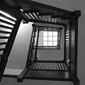 Prairie House Stairs by Anna Villarreal Garbis