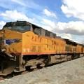 Prairie Train Ride  by David Dehner