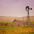 Prairie Windmill by Timothy Flanigan