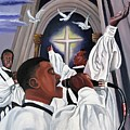 Praising God by Toni  Thorne