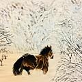 Prancing Through The Snow by John Rankin