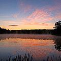 Prat Pond Morning by James F Towne