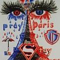 Pray For Paris by Uzor Dijeh