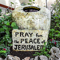 Pray For The Peace Of Jerusalem by Brian Tada