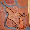 Prayer 27 - Tile by Gloria Ssali
