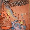 Prayer 28 - Tile by Gloria Ssali