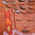 Prayer 31 - Tile by Gloria Ssali