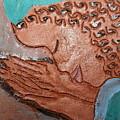 Prayer 36 - Tile by Gloria Ssali