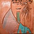 Prayer 39 - Tile by Gloria Ssali