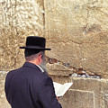 Prayer At The Western Wall by Thomas R Fletcher