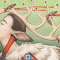 Prayer Of Elk Woman by Amy S Turner