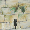 Praying At The Western Wall by Miriam Leah