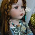 Pre Raphaelite Doll  by Adrianne Wood