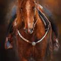 Pre Show Ride Horse Art by Jai Johnson