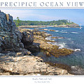 Precipice Ocean View by Peter Muzyka