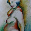 Pregnant Nude by Gideon Cohn