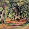 Pres Du Jas De Bouffan by Paul Cezanne