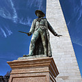 Prescott Statue On Bunker Hill by Wayne Marshall Chase