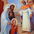 Presentation Of Mary In The Temple  by Svitozar Nenyuk