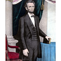 President Abraham Lincoln In Color by War Is Hell Store