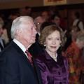 President And Mrs. Jimmy Carter Nobel Celebration by Jerry Battle