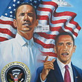 President Barack Obama by Arnold Hurley