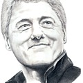 President Bill Clinton by Murphy Elliott