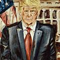 President Donald Trump by Ryan Demaree