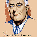 President Franklin Roosevelt And Quote by War Is Hell Store