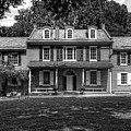 President James Buchanan's Wheatland In Black And White by Craig Fildes