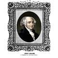 President John Adams Portrait  by War Is Hell Store