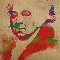 President John Adams Watercolor Portrait by Design Turnpike