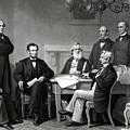 President Lincoln and His Cabinet by War Is Hell Store