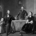 President Lincoln And His Family  by War Is Hell Store